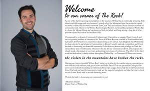 Welcome to our corner of The Rock - A message from Sebastien Despres Mayor of Witless Bay
