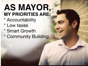 Priorities are Mayor