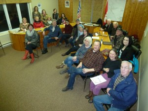 The first meeting of the Community Enhancement Committee, in Witless Bay's Council Chambers.