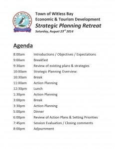 Planning Retreat Agenda